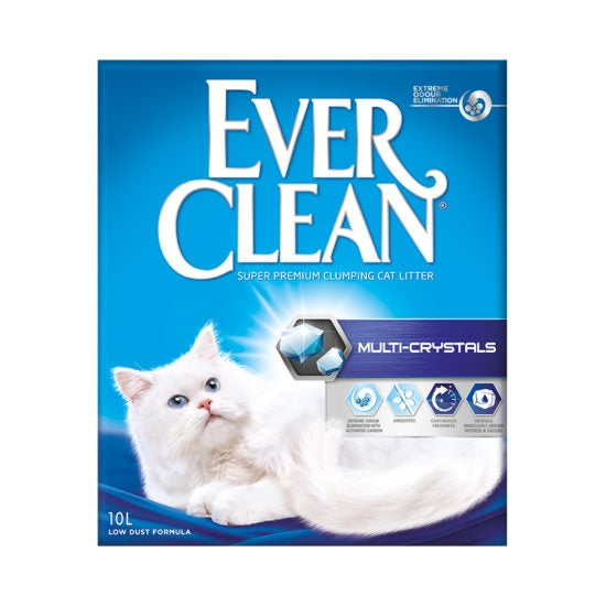 Ever Clean Super Premium Clumping Cat Litter Multi Crystals Front Image