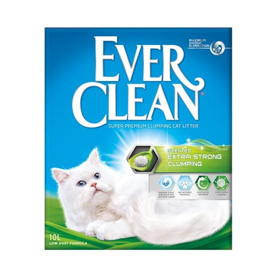 Ever Clean Super Premium Clumping Cat Litter Extra Strong Clumping Scented Product Front Image